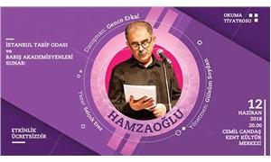 Onur Hamzaoğlu için hazırlanan tiyatro oyunu yarın sahnelenecek