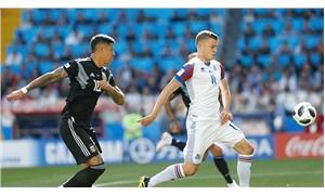Arjantin-İzlanda maçı 1-1 sona erdi