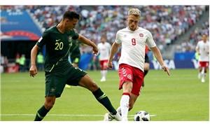 Danimarka ile Avustralya 1-1 berabere kaldı