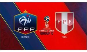 Fransa ile Peru karşı karşıya geliyor