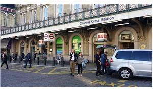 Londra Charing Cross istasyonunda bir kişi gözaltına alındı