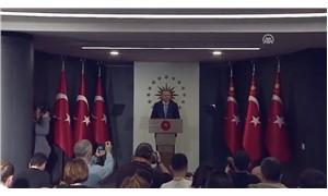 Erdoğan: Milletimiz yasama ve yürütme yetkisini bize vermiştir
