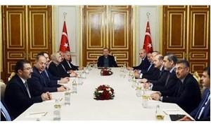Erdoğan başkanlığındaki 'Cumhurbaşkanlığı Hükümet Sistemi' toplantısı sona erdi