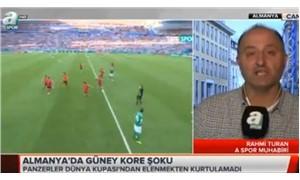 A Spor Muhabiri Rahmi Turan hakkında suç duyurusu