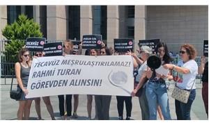 Kadınlar, Turan hakkında  suç duyurusunda bulundu
