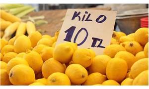Limonun kilosu halde 6.5, pazarda 10 lira