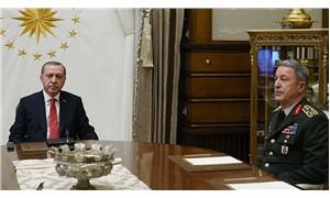 Cumhurbaşkanı Erdoğan, Genelkurmay Başkanı Akar ile görüştü