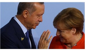NATO zirvesinde Erdoğan-Merkel görüşmesi başladı