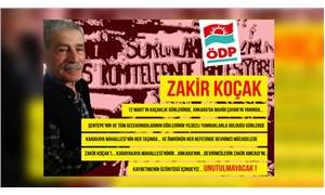 ÖDP üyesi Zahir Koçak hayatını kaybetti