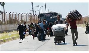 Bayram ziyaretine giden 42 bin Suriyeli döndü