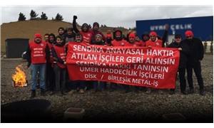 UMER Haddecilik işçilerinin mücadelesi sürüyor