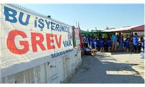 Karaman'da fabrika işçileri, 50 gündür grevde