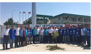 CHP'li Ünver, 50 gündür grevde olan işçileri ziyaret etti