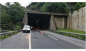Ordu'da tünelde zincirleme kaza