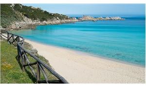 Plajdan kum çalan turiste 1000 avro para cezası
