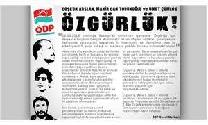 Sakarya'da tutuklanan 3 ÖDP'li hakim karşısına çıkıyor