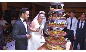 Antep düğünü: Pasta yerine 9 katlı çiğ köfte