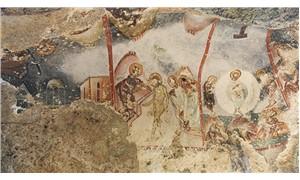 Yediler Manastırı'ndaki koruma altına alınmayan freskler, kaderine terk edildi