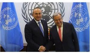 Bakan Çavuşoğlu BM Genel Sekreteri Guterres ile telefonda görüştü