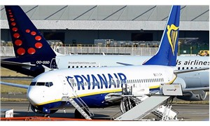 İrlanda'da havayolu şirketi Ryanair'in pilotları greve gitti