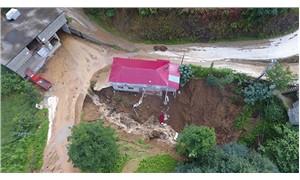 Rize'de şiddetli yağış sonrası sel ve heyelanlar oldu