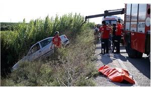 Adana'da otomobil dereye devrildi: 2 ölü, 2 yaralı