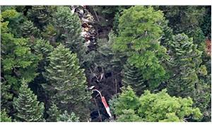 Japonya'da arama kurtarma helikopteri düştü: 9 ölü