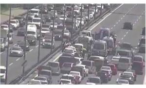 FSM Köprüsü'nde zincirleme trafik kazası: 5 yaralı