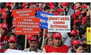 'Krizi işçiler çıkarmadı!'