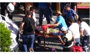 Çanakkale'de 4 katlı apartmanın çatısından atlayan bir kişi hastaneye kaldırıldı