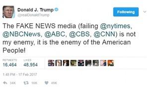300'den fazla haber kuruluşu Trump'ın saldırılarına karşı birleşti