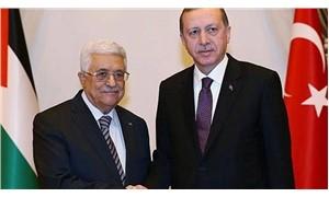 Erdoğan, Filistin Devlet Başkanı Abbas ile telefonda görüştü