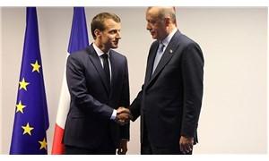 Erdoğan ile Macron görüştü