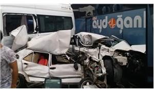 Bursa'da trafik kazası: Ölü ve yaralılar var