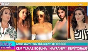 Beyaz TV, Defne Samyeli ve kızlarının fotoğraflarını sansürledi