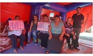 Evleri yıkılanlar çadırlarda yaşıyor