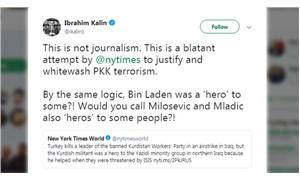 Kalın'dan NYT'nin haberine tepki: Bu gazetecilik değil