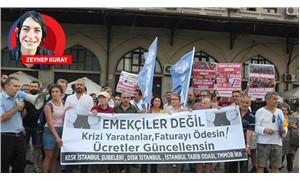 Emek örgütlerinden kriz protestosu
