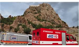 Afyon'da kaleden düşen çocuk hayatını kaybetti