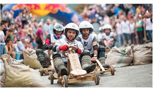 'Formulaz' tahta araba yarışlarının 10'uncusu gerçekleşti