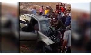 Antep'te otomobil ile minibüs çarpıştı: 8 yaralı