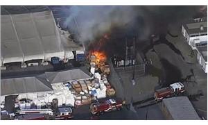 Tesla Fremont fabrikasının yakınında yangın çıktı