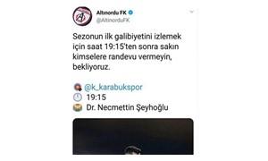 Altınordu'da başkandan sosyal medya yasağı