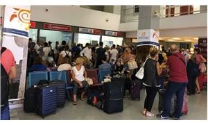 KKTC'de uçuşlar durdu, THY seferleri iptal edildi