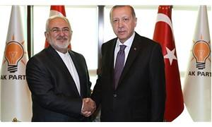 Erdoğan, AKP Genel Merkezi'nde İran Dışişleri Bakanı Zarif ile görüştü