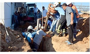 Doğalgaz hattı kazısında toprak kayması: 2 işçi ağır yaralı
