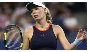 ABD Açık'ta 4. gün:  Wozniacki'den sürpriz veda