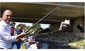 CHP'den, Ergene Nehri'nde oltalı eylem