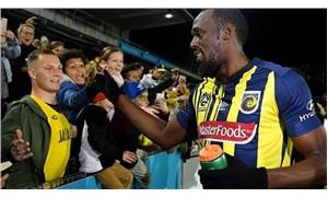 Usain Bolt, futbol kariyerinin ilk maçına çıktı