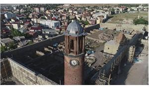 Erzurum Kalesi'nde 150 yıllık fünyeler bulundu